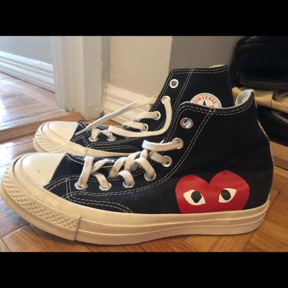 e384b75f9a004 Comme des Garcons Shoes   Comme Des Garon Converse Sneakers Size 6 ...